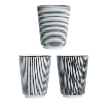 Becher - Pen Stripe von house doctor