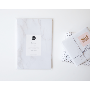 Geschenkpapier - Marble von The birds and the bees