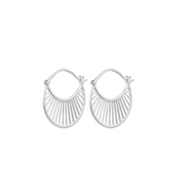 Daylight Earrings silber von Pernille Corydon