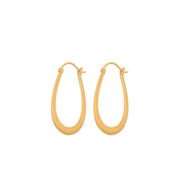 Gala Earrings gold von Pernille Corydon