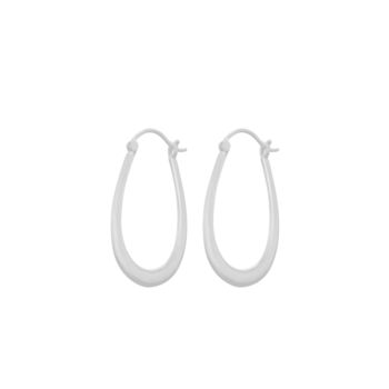 Gala Earrings silber von Pernille Corydon